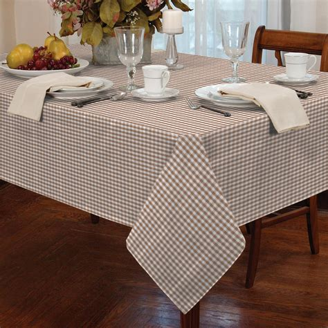 kitchen table protector tablecloth traditional gingham check square oblong kitchen table protector ebay