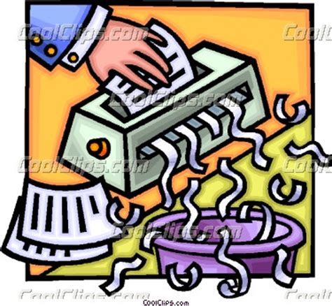 paper shredder shredding clip art www pixshark com images galleries