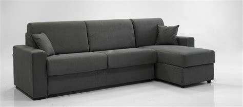 divano letto immagini ade divano letto con chaise longue contenitore 140