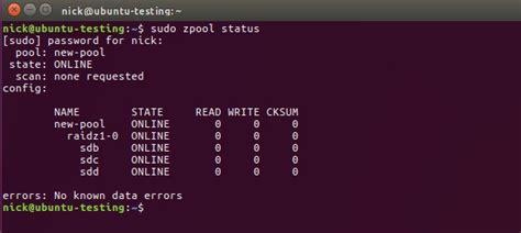 howto zfs ubuntu how to use the zfs filesystem on ubuntu linux make tech