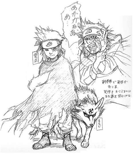 Goku Tshirt Hitam gaara ternyata dulunya dibuat lebih seram dan buas