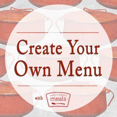 make your own dinner create your own menu part 7 creating a grocery list
