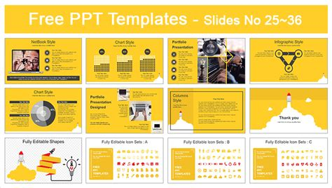 Rocket Launched Powerpoint Template Powerpoint Create Template