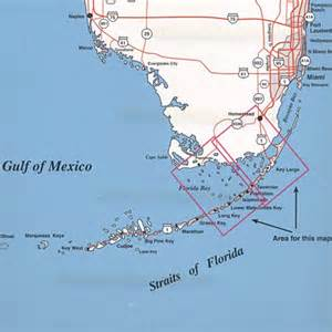 top spot fishing map n207 florida bay area