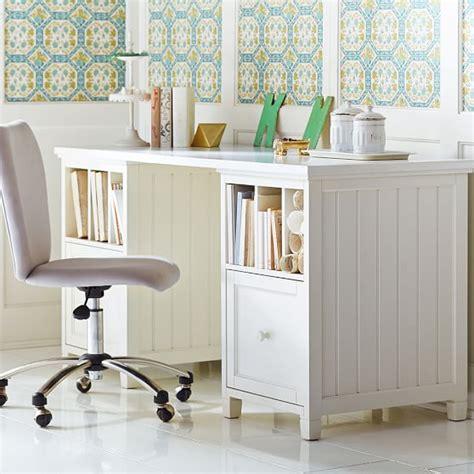 beadboard desk beadboard divider desk pbteen