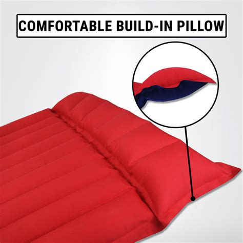 air mattress bed rubberised cotton cing mat hiking outdoor ebay