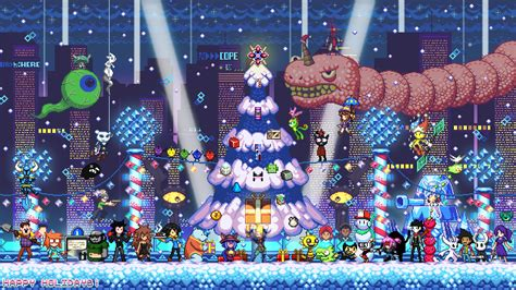 wallpaper games indie indie games holidays wallpaper by scepterdpinoy on newgrounds