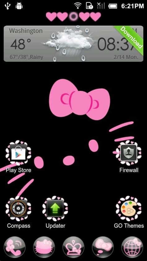 go launcher ex themes hello kitty free hello kitty graphics software free download