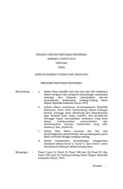 Undang Undang Pilkada Lkp No 10 Tahun 2016 Dilenkapi Kode Etik Pemilu Undang Undang No 6 Tahun 2014 Tentang Desa The