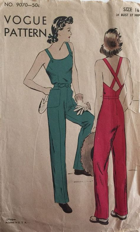 vintage overall pattern top 25 ideas about 40s fashion on pinterest 1940 s