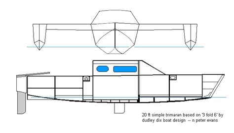 trimaran kit with folding akas trimaran hull design ft trimaran based on apos fold