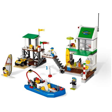 Set Marina lego marina 4644 new in box retired set