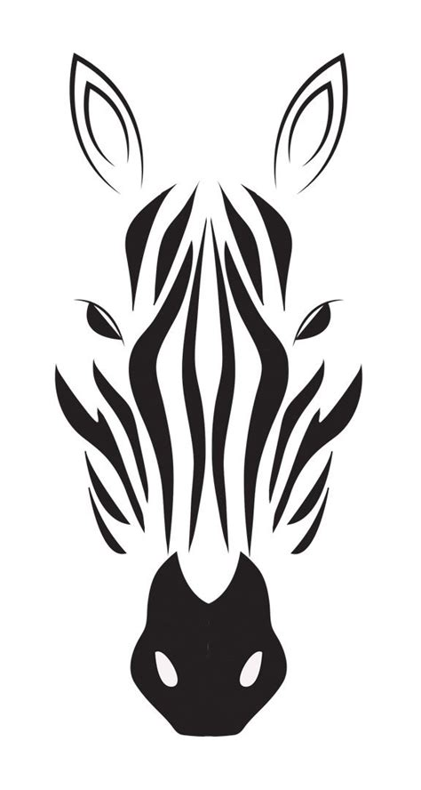 zebra drawing in black amp white indulgy