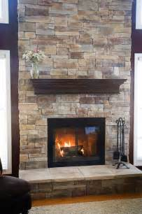17 Best Images About Stone Veneer Fireplace On Pinterest