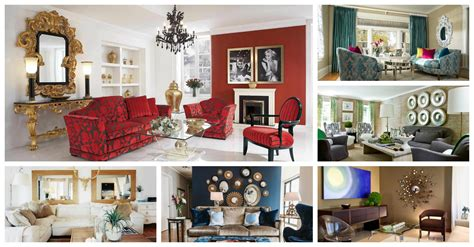 Fancy Mirrors Living Room by Eye Catching Decorative Mirrors For Living Rooms You