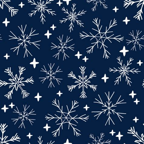 cute navy pattern winter snowflakes navy blue dark blue snowflake pattern