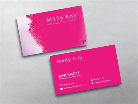 Mk Gift Card - mary kay business cards
