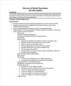 Operations Director Resume by Sle Director Of Operations Resume 7 Free Documents In Pdf Word