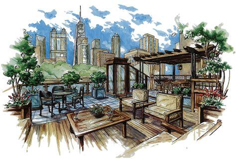 landscape architecture sketches google search paintings i love pinterest landscape