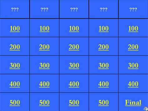 jeopardy template powerpoint 2010 jeopardy template powerpoint 2007 jeopardy