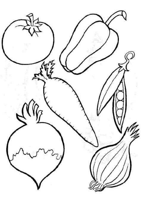 Coloriage Légumes Cuisine