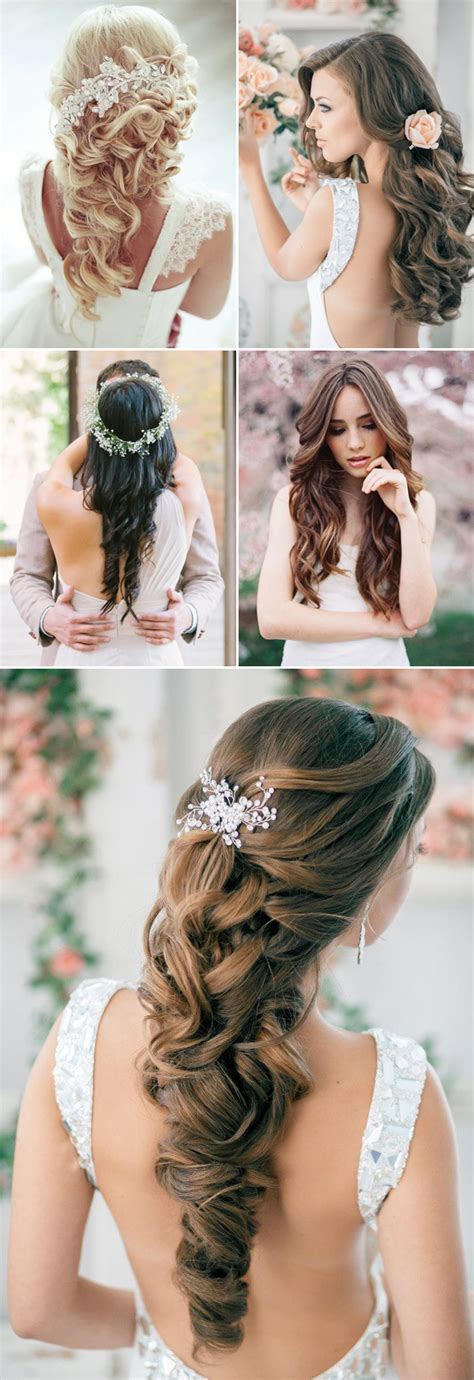 bridal hairstyles on facebook 20 swoonworthy long bridal hairstyles praise wedding