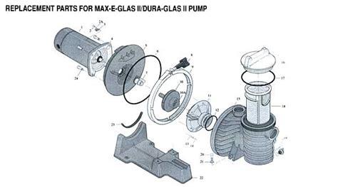 sta rite pool parts diagram sta rite max e pro pool impeller parts