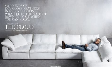 restoration hardware cloud sectional restoration hardware sectional sofa pee cloud modular
