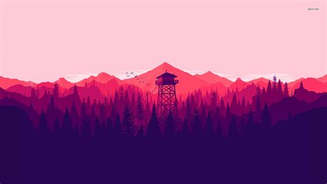 wallpaper 4k vector 30147 firewatch 1920x1080 vector wallpaper wallpapers