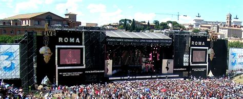 live rome live 8 concerts around the world to quot end poverty now