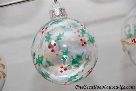28 best acrylic paint christmas ornaments one creative