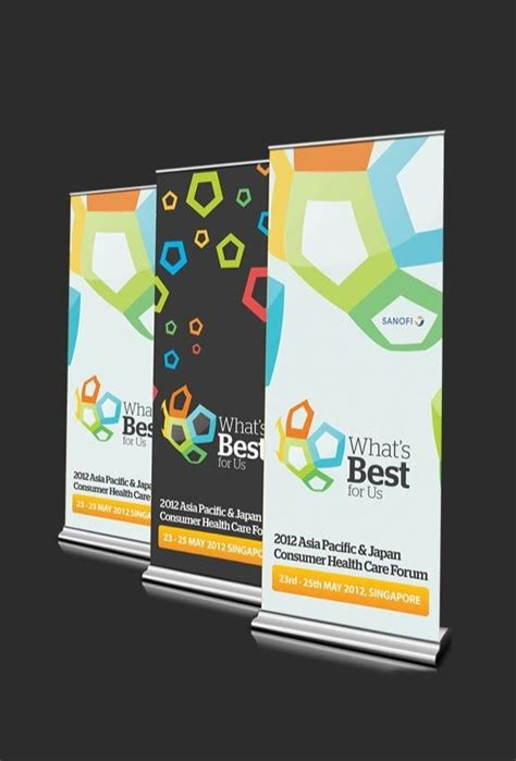 templates for retractable banners 98 best images about inspiration banner design on