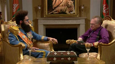 To Be Interviewed By Larry King by Larry King With Admiral General Aladeen