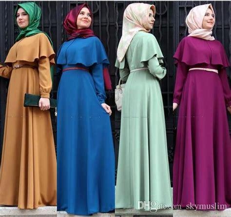 Dress Muslim Wanita Gamis Maxi Dress Turkey 4 muslim dress abaya in dubai islamic clothing for