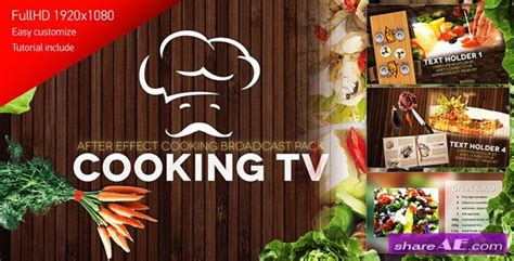 Cooking Show Template Videohive Cooking Show 187 Free After Effects Templates