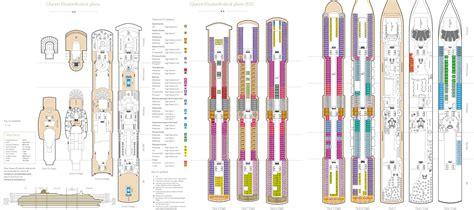 deck plan elizabeth elizabeth cruise ship deck plan fitbudha