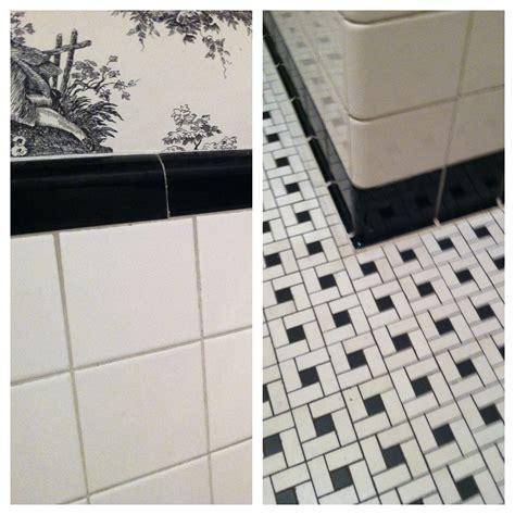 1930s bathroom tile 30 great pictures and ideas basketweave bathroom floor tile
