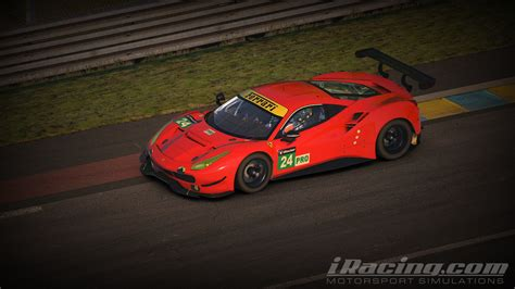 ferrari 488 modified iracing ferrari 488 gte first look inside sim racing