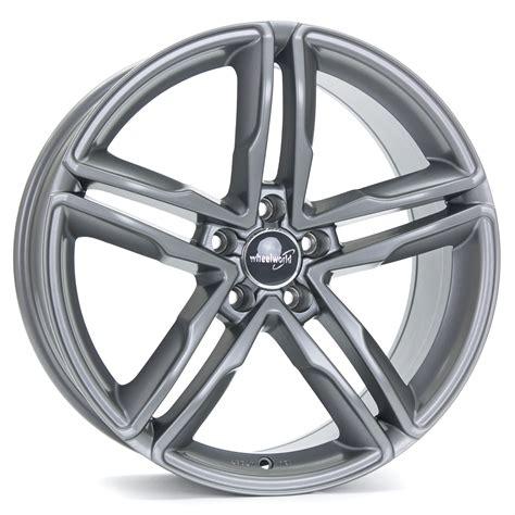 felgen grau matt wheelworld wh11 felgen daytona grau matt lackiert in 20