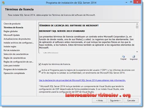 spanish cam 4 microsoft sql server 2014 enterprise standard enterprise