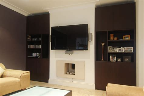 Custom Made Living Rooms Display Tv And Media Units Wenge Living Room Furniture
