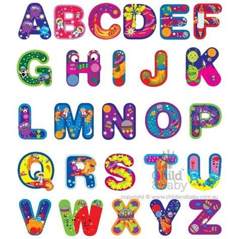 1 Set Isi 26 Huruf Alphabet A Z Resin Charm Bahan Craft alphabet bosco alphabet wall stickers outer space work alphabet wall