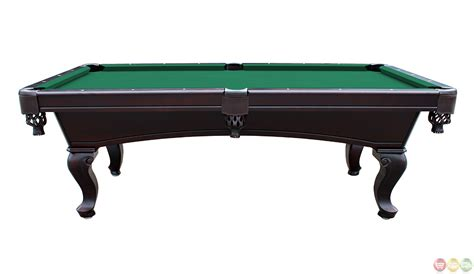 3 piece slate pool table green 8 foot queen anne style 3 piece slate pool table