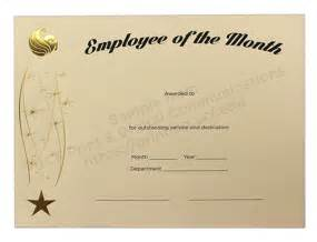 employee of the month powerpoint template employee of the month certificates templates new