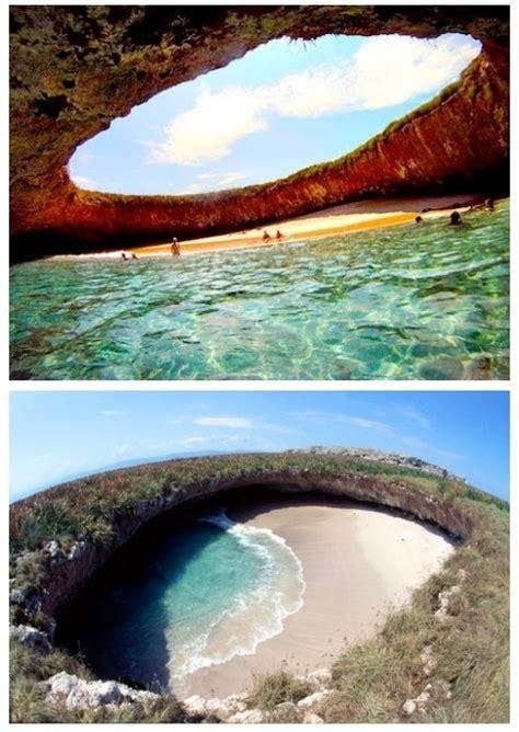 hidden beach in marieta mexico hidden beach islas marietas mexico livingsocial escapes