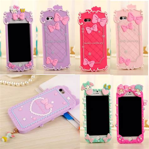 Silicon Melody Iphone 6 S Iphone 6 S Note 4 new 3d my melody hello soft silicone cover for iphone 6 plus 5s ebay