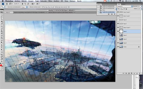 watercolor tutorial advanced how to create perspective in photoshop part 2 advanced