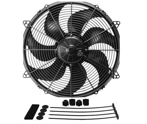 extreme garage fan blades derale 16136 extreme curved blade fan