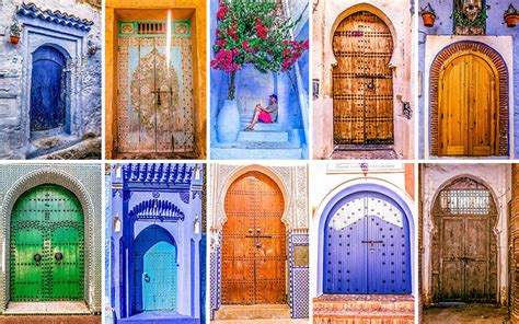 Moroccan Style Home The Colorful Doors Of Morocco Bored Panda