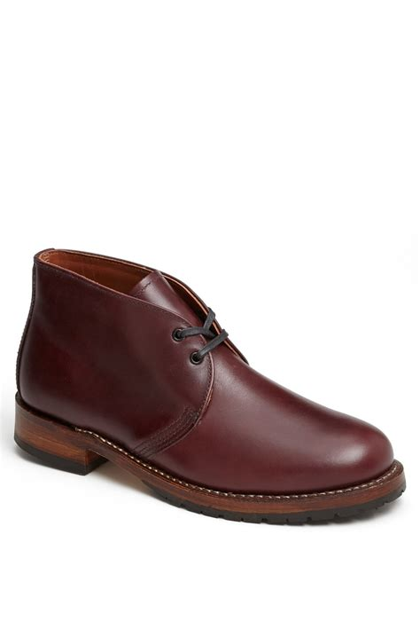 wing chukka boots wing beckman chukka boot in for black